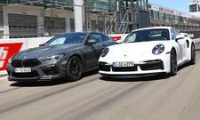 BMW M8 Competition/Porsche 911 Turbo S