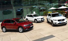 VW Tiguan/Volvo XC40/BMW X1