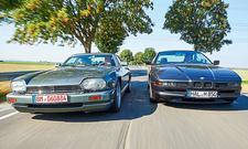 Jaguar XJ-S V12/BMW 850i: Classic Cars