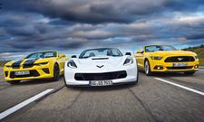 Camaro 6.2 V8/Corvette Grand Sport/Mustang GT