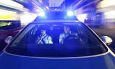Verfolgungsjagd der Polizei