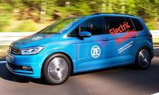 2-Gang-Antrieb für Elektroautos von ZF