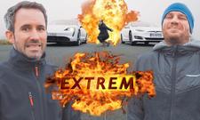 Porsche Taycan/Tesla Model S: Video