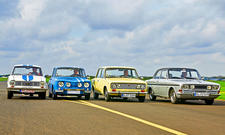 Glas 1304/R8/Fiat 124/Ford 15M: Classic Cars