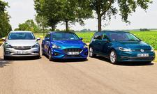 Ford Focus/VW Golf/Opel Astra