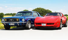 Ford Mustang/Chevrolet Corvette: Classic Cars