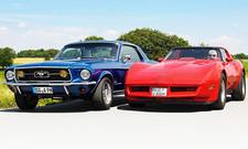 Ford Mustang/Chevrolet Corvette: Classic Cars