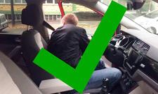 Autotür sicher öffnen