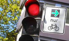 Grüner Pfeil nur für Radfahrer