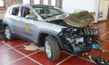 Jeep Compass im Crashtest