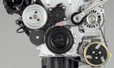 Der Keilriemen fungiert als Bindeglied zwischen Motor und Nebenaggregaten.