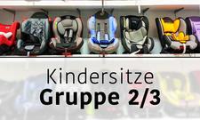 Kindersitze Gruppe 2/3 Header
