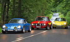 Porsche 911 T/Alpine A110/Lancia Fulvia: Classic Cars