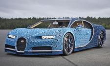 Bugatti Chiron: 1:1-Lego-Modell