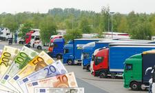 Riesen-Bußgeld für Lkw-Fahrer