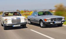 Mercedes 280 CE/280 SLC: Classic Cars