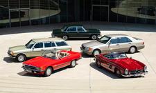Mercedes 300 W198/W109/S123/R107/W140: Classic Cars