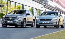 Mercedes EQC/Polestar 2
