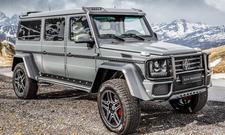 Mercedes G-Klasse von Alpha Armouring