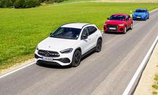 Mercedes GLA/Audi Q3 Sportback/BMW X2