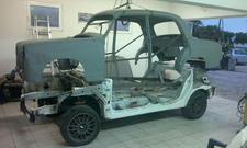 Mercedes Ponton Mitsubishi EVO IX
