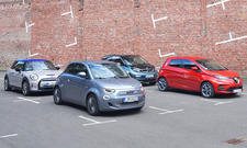 Mini Cooper SE/Fiat 500e/BMW i3/Renault Zoe