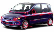 Fiat Multipla neu gestaltet
