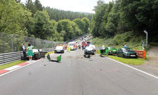 Unfall auf Nürburgring-Nordschleife