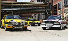 Walter Röhrls Rallye-Opel: Ascona A, Kadett GT/E und Ascona 400
