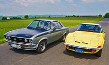 Opel GT/Manta A GT/E: Classic Cars