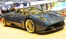 Pagani Huayra Roadster in Genf 2017