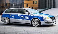 VW Passat Polizei-Tuning