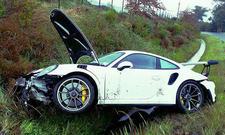Porsche 911 GT3 RS gecrasht