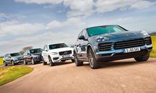 BMW X5/Mercedes GLE/Porsche Cayenne/Volvo XC90