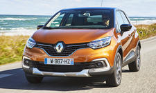 Neues Renault Captur Facelift (2017)