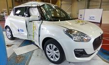 Suzuki Swift im Crashtest