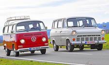 VW Bus T2/Ford Transit: Classic Cars