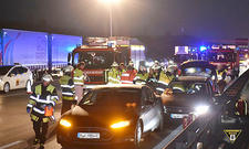 Schwerer Unfall auf A9 verhindert