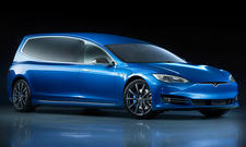 Tesla Model S Bestattungswagen von Binz