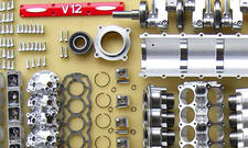 V12-Motor Bausatz