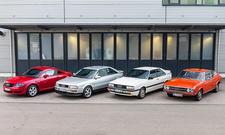 Audi Coupés: 100 S/S2/quattro/TT