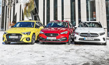 Audi A3 Sportback/Mercedes A-Klasse/Seat Leon