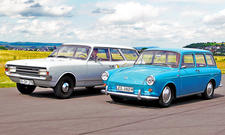 VW 1500/Opel Rekord C: Classic Cars
