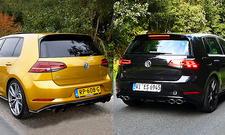 VW Golf R Serienauspuff/Akrapovic
