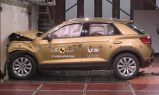 VW T-Roc (2017) im Crashtest