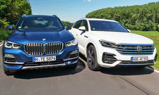 BMW X5 xDrive40i/VW Touareg V6 OPF 4Motion