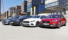 Audi A3/BMW 1er/Mercedes A-Klasse/Seat Leon