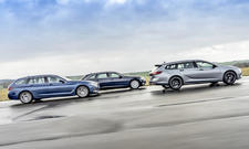 Audi A6 Avant 40 TDI/BMW 520d Touring/Opel Insignia Sports Tourer 2.0 D