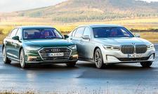 Audi A8 L 60 TFSI e/BMW 745Le xDrive