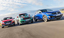 Audi SQ2/Mini John Cooper Works Countryman/VW T-Roc R